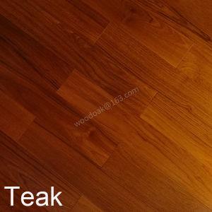 High Quality Solid Wood Natural Hardwood Teak Flooring