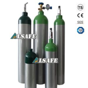 Seamless Aluminium Air Tank for Various Specialty Gas pictures & photos