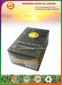 Smiley Cigarette Rolling Paper with Filter Tips pictures & photos
