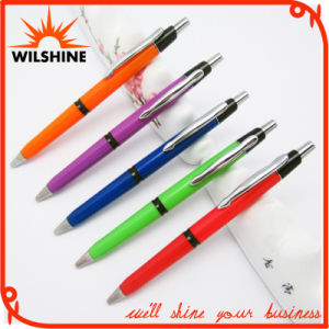 New Advertising Plastic Promotion Logo Ball Point Pen (BP0210C) pictures & photos
