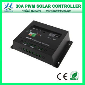 Auto12V/24V 30A Solar Charge Controller for Solar Power System (QWP-1430E) pictures & photos