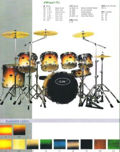 7PCS Drum Sets, Drum Kits (JW227-T1)