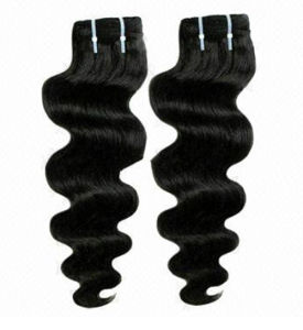 100% Natural Hair Brazilian Virgin Human Hair Weaving pictures & photos