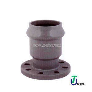 UPVC Reducing Faucet Flanges DIN Pn 10 (rubber ring) pictures & photos