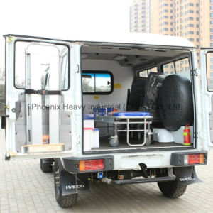 LHD 4WD Iveco Ambulance with Iveco Diesel Engine pictures & photos