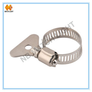 Stainless Steel Hydro Flow Butterfly Hose Clamps pictures & photos