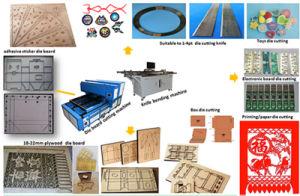 Platen Die Punching Laser Machine Die Cutting Industry pictures & photos