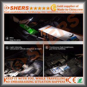 2W COB LED Pen Work Light Pocket Work Light Magnetic Clip pictures & photos