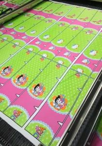 CCD Camera Edge Tracking Positioning Printed Fabric Laser Cutting Machine pictures & photos