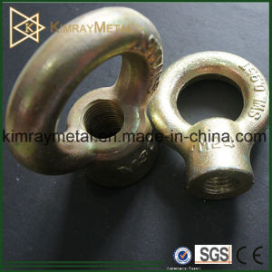 Yellow Zinc Plated Eye Nut JIS Type JIS1169 pictures & photos