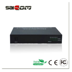 10/100m, Single-Mode Single Fiber, 1490/1550nmnm(DFB/DFB), 120km, Fiber Media Converter pictures & photos