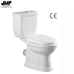 2598 Ce Approved Sanitary Ware Washdown Two Piece Bathroom Ceramic Toilet pictures & photos