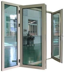 High Quality Luxury Double Glazed Aluminum Casement Glass Door (ACD-012) pictures & photos