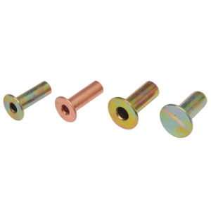 Brass Metal Semi Tubular Rivets Copper pictures & photos
