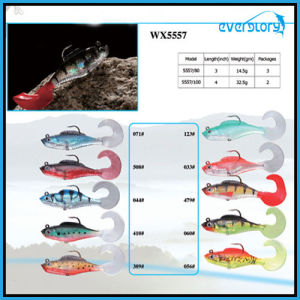 Good Action 8cm/10cm Lead Soft Fishing Lure pictures & photos