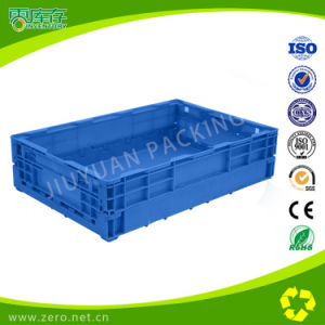 650*435*160mm Industrial Folding/ Stackable Plastic Moving Boxes pictures & photos