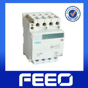 18mm DIN Rail Mounted Electric Power Residential Mc Contactor pictures & photos