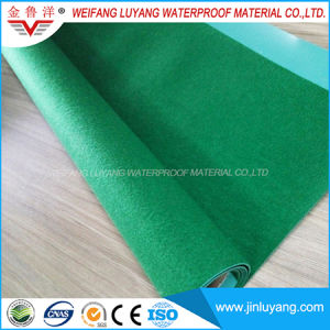2.0mm Polyester Reinforced PVC Waterproof Membrane, High Polymer Waterproof Membrane for Roof Garden pictures & photos