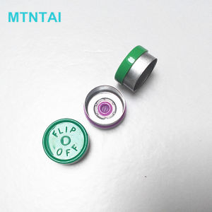 13mm Glass Bottle Caps in Purple Color pictures & photos
