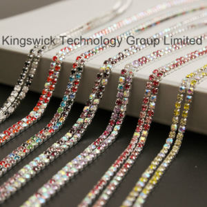 Fashion Wholesale Crystal Rhinestone Cup Chain pictures & photos