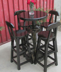 Solid Wood Chairs and Table with Cheap Price (M-X3014) pictures & photos