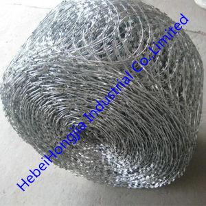 High Security Galvanized Razor Blade Barbed Wire Supplier Bto-30
