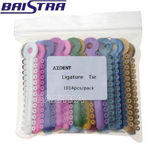 Hot Sale Plastic Dental Mixed Color Ligature Tie pictures & photos