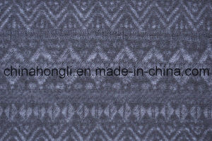 Popular Jacquard Knittting Yard Dye Mesh Fabric for Casual Garment pictures & photos