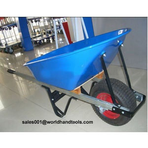 Austrialian Model Alumium Handle Wheelbarrow with Metal Bucket pictures & photos