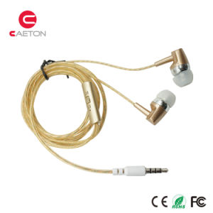Plastic Wire Headphones Sports Earphones with Stereo Sounds pictures & photos