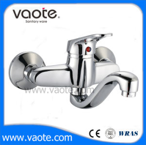 Brass Body Wall Kitchen Mixer Sink Faucet (VT10402) pictures & photos
