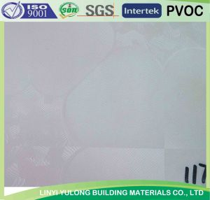 2015 New Design PVC Laminated Gypsum Ceiling Tile/ Board with Aluminium Foil Back pictures & photos