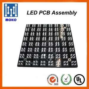 Fr4 LED PCB Module DIP 5mm LED Light Circuit Board Design