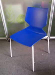 Modern Stackable Plastic Restaurant Dining Chair pictures & photos