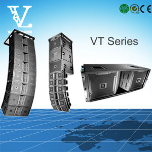 Vt4889 Double 15′′ 3-Way Line Array System with Neodymium Magnet pictures & photos