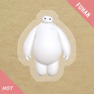 Cute Baymax Pattern Heat Transfer Garment Label pictures & photos