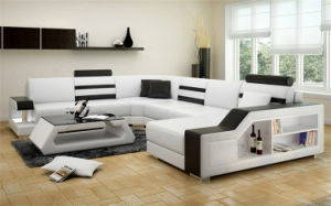 Home Furniture New Design Living Room Leather Sofa Set (HC1073) pictures & photos