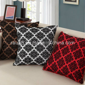 Linen Flocking Sofa Cushion Covers pictures & photos