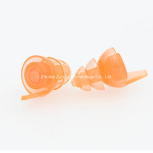 OEM Direct Manufacturer for 16dB/20dB/23dB/26dB Silicone Earplug with Filter pictures & photos