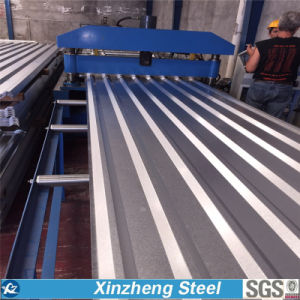 Galvanized Steel Corrugated Roofing Sheet, PPGI Roofing Sheet (0.125mm-0.8mm) pictures & photos