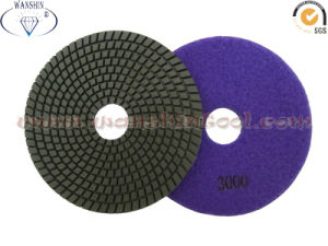 150mm Flexible Wet Polishing Pad for Granite pictures & photos