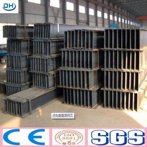 High Quality Hot Rolled H Beam Steel in China Tangshan pictures & photos