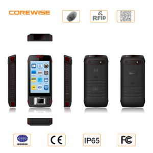 Handheld Android Industrial PDA with Fingerprint Reader RFID pictures & photos