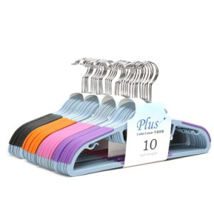 U-Slide Clothes Hanger-Ltra Thin Non-Slip - Set of 50 with (kwsu328)