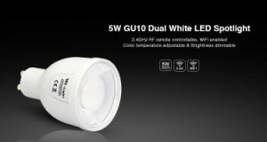 5W WiFi Controlled Dual White LED GU10 Bulb pictures & photos
