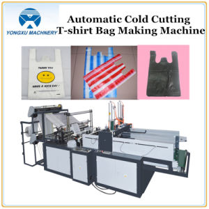 Automatic Cold Cuting T-Shirt Bag Making Machine (YXCS) pictures & photos