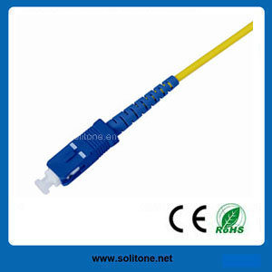 Sc Single Mode Simplex Fiber Optic Patch Cord pictures & photos