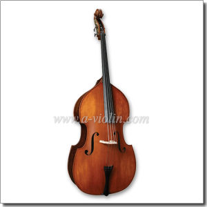 Carved Solid Contrabass/Double Bass with Student Bow (BG102) pictures & photos