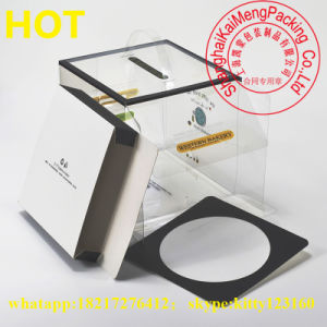 China Supply Printed Cake Pet Plastic Storage Box 30cm X 30cm pictures & photos