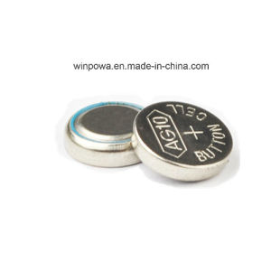 0%Hg Pd 1.5V Alkaline Button Cell Battery (AG10/LR54)